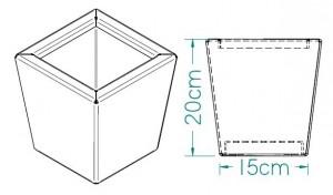 L'adorable - dimensions